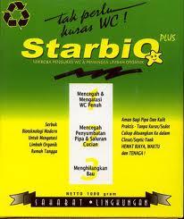 Jual STARBIO Plus Mengatasi Toilet Mampet