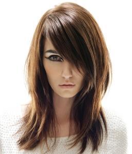side bangs hairstyles