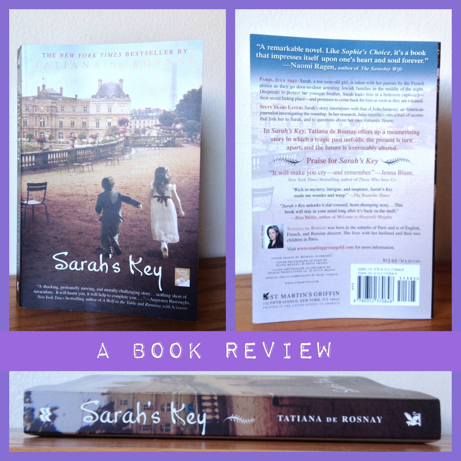 Book Review In Different Key Story Of >> What I Blog About When I Blog About Books Sarah S Key A Book Review