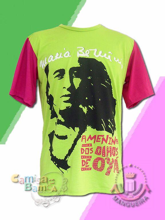 EXCLUSIVO: Camiseta idealizada por Alcione faz grande sucesso e vira oficial da Mangueira