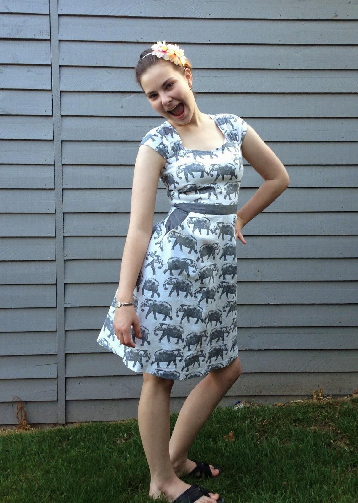 Elephant Cambie Dress
