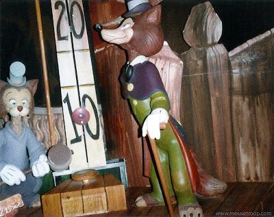Pinocchio's Daring Journey dark ride Disneyland John Gideon