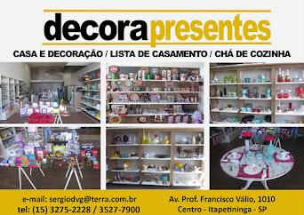 Decorapresentes CASA E DECORAÇÃO / LISTA DE CASAMENTO / CHÁ DE COZINHA