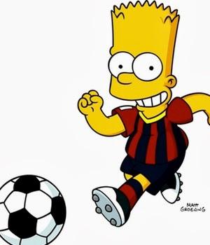 Bart Simpson Barcelona
