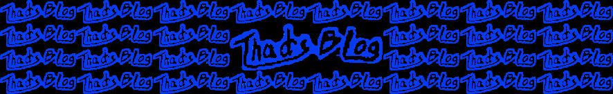 Thad's Blog