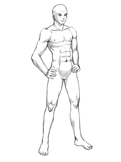 How to Draw a Basic Manga Character: Body Proportions