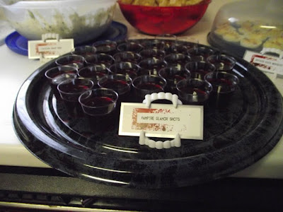True Blood Party Glamour Jello Shots@ Northman's Party Vamps