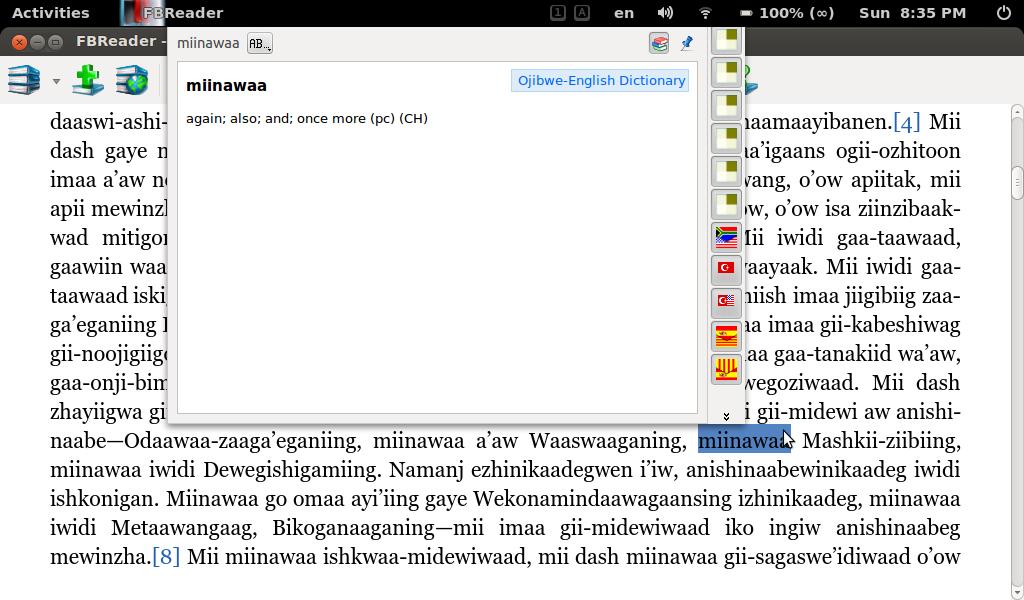 dictionary program in c language