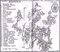 Карта пещеры Млынки