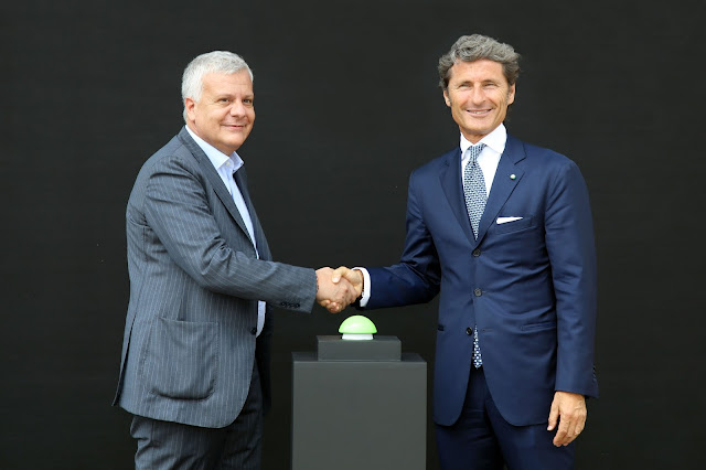 Lamborghini Gian Luca Galletti and Stephan Winkelman