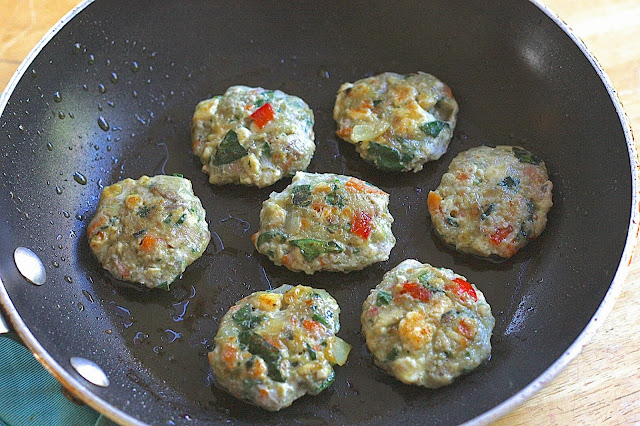 Turkey/Beef Patties Jam Packed With Veggies / Dongurangdeng 동그랑땡 (GF and Egg Free Option)