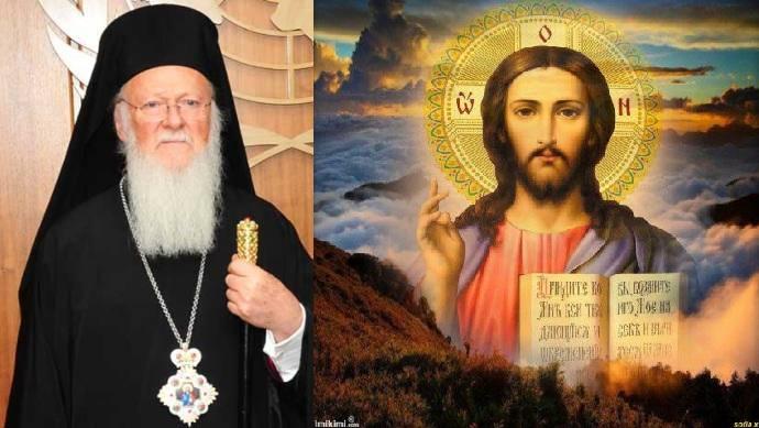 ΠΟΛΙΤΙΚΟΣ ΠΡΟΣΦΥΓΑΣ Ο ΧΡΙΣΤΟΣ ΓΙΑ ΤΟΝ ΣΚΛΑΒΟ ΠΑΤΡΙΑΡΧΗ ΒΑΡΘΟΛΟΜΑΙΟ!!!