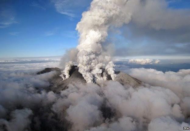 Revolusi Ilmiah - Letusan gunung ontake