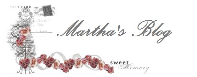 Martha&#39;s blog