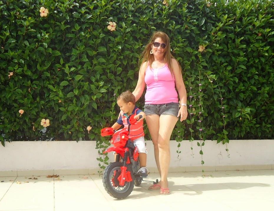 Eu e meu neto
