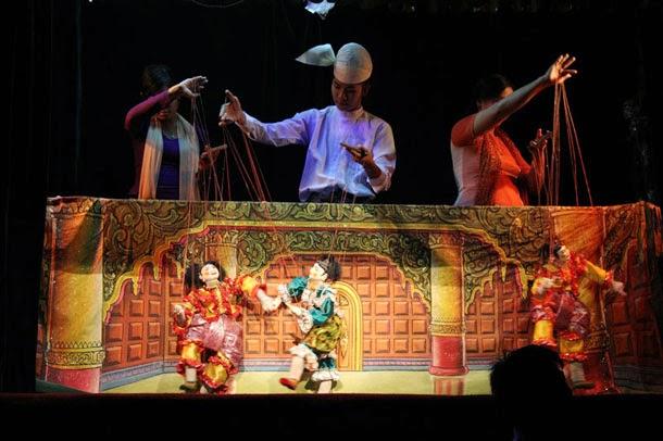 Myanmar Traditional Puppet,Myanmar Culture