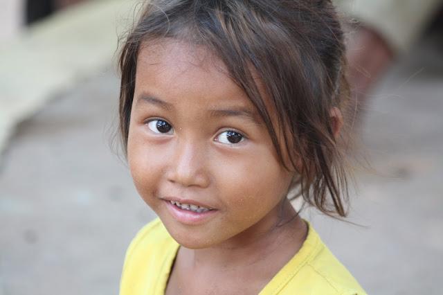 Visage du jour : Enfant khmer