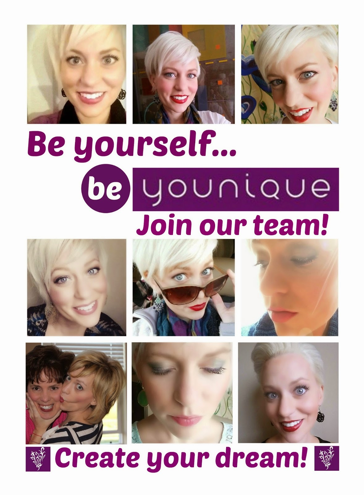 The YOUNIQUE Team is Available to Create your Dream!