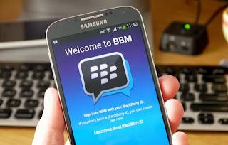BBM Untuk Andrid Dan iPhone Gratis, Tapi Ada Iklannya | ilmu-top.blogspot.com