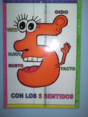 recursos de educaci n infantil mural de los sentidos