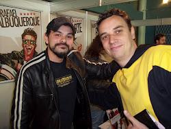 Com Rafael Albuquerque