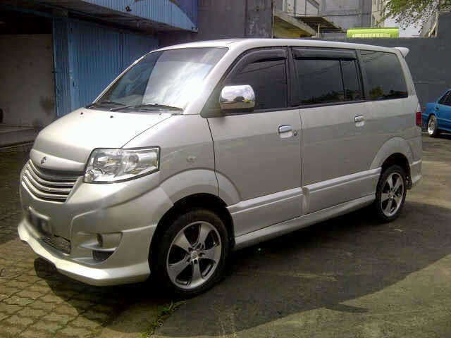 modifikasi suzuki apv luxury
