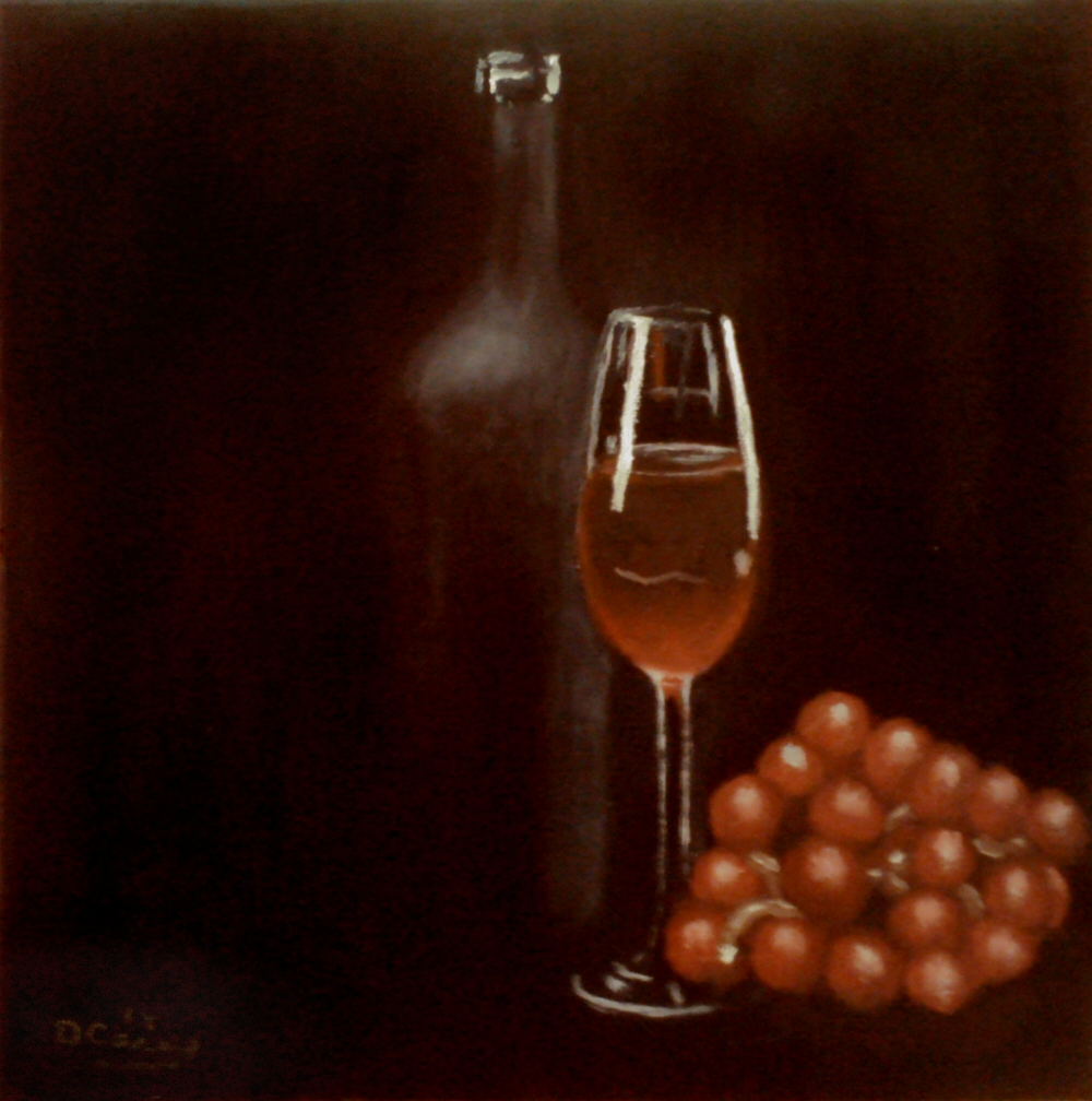 Days of Wine and Grapes ver. 2.0 001a 12x12 oil on stretched canvas - Dave Casey - TheDailyPainter.com.jpg