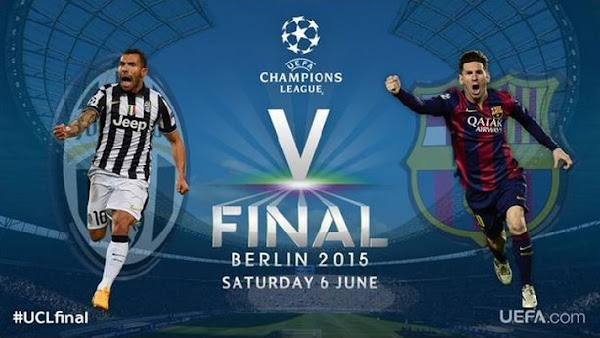 JUVENTUS-FC BARCELONA LIVE Finala Uefa Champions League 2015
