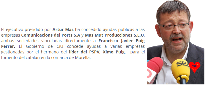 Puig, Urkullu y Mas - Círculo Cívico Valenciano