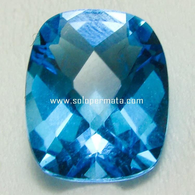 Batu Permata Blue Topaz - 15A08
