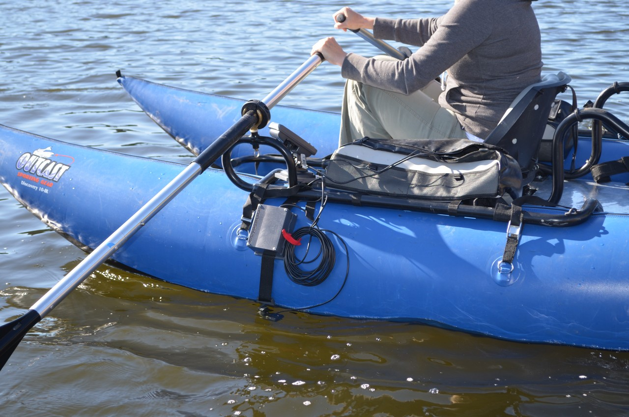how to mount fish finder