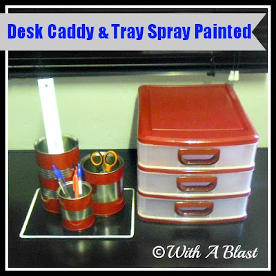 Desk Caddy And Tray