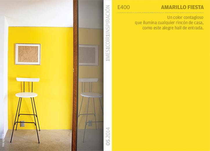 Pared amarilla - Color ocre para paredes ...