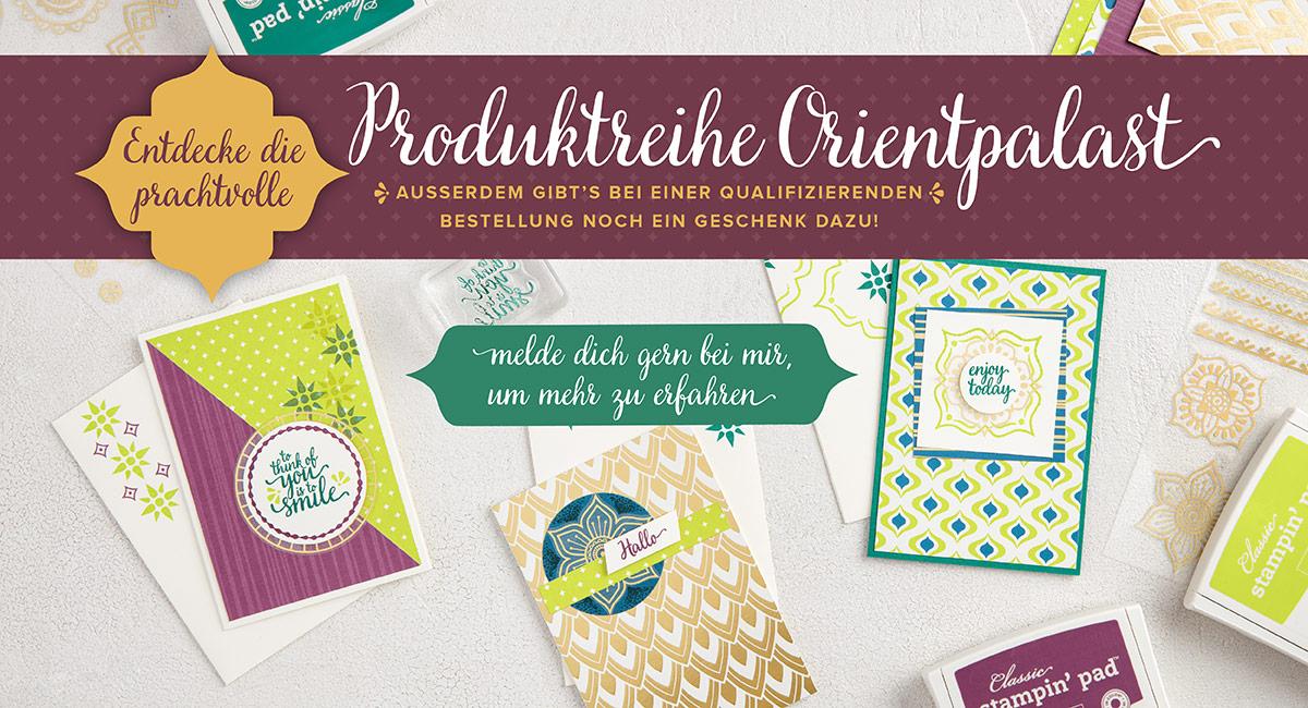 """Produktreihe """"Orientpalast"""""""