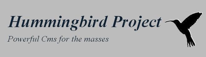 Hummingbird CMS