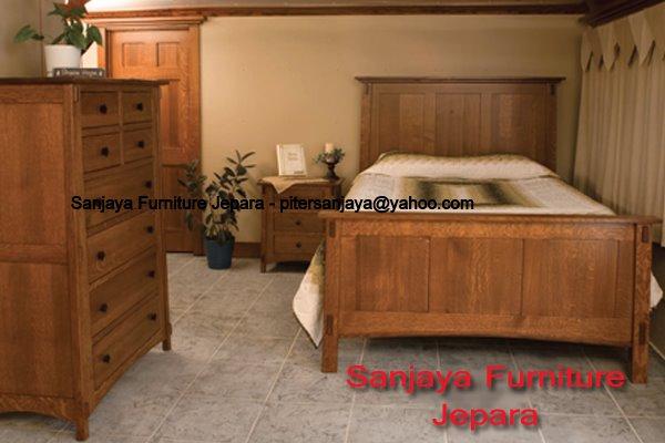 dipan tempat tidur minimalis set blok kotak 2 sanjaya