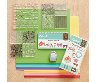 SHOP CTMH Flower Market Cricut Cartridge