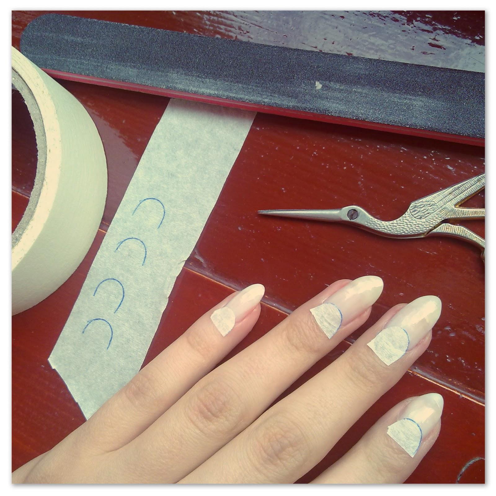 Idda van munster about my nails half moon step by step about my nails half moon step by step sciox Choice Image