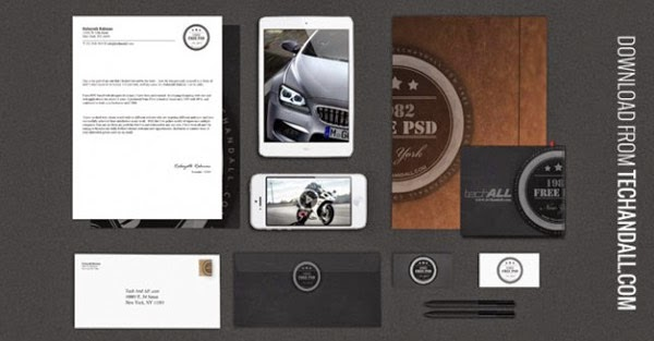 Download Branding Stationery Mockup Gratis - LUXURY BRANDING / IDENTITY MOCKUP