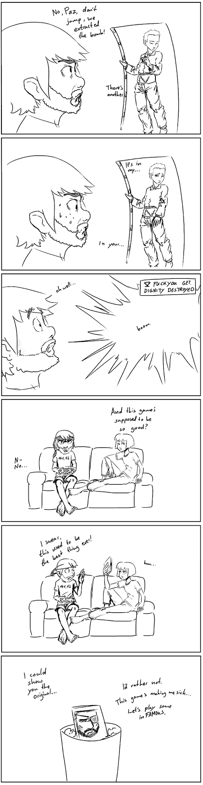Kat and Paz play Ground Zeroes