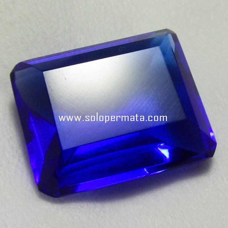 Batu Permata Blue Obsidian - Kode 9A01