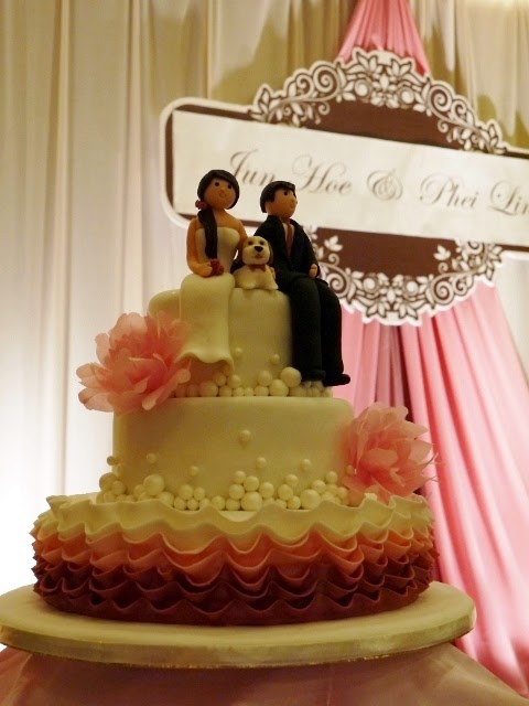 Of Wedding Cakes, Sweets and more...in Ipoh, Malaysia: 2014