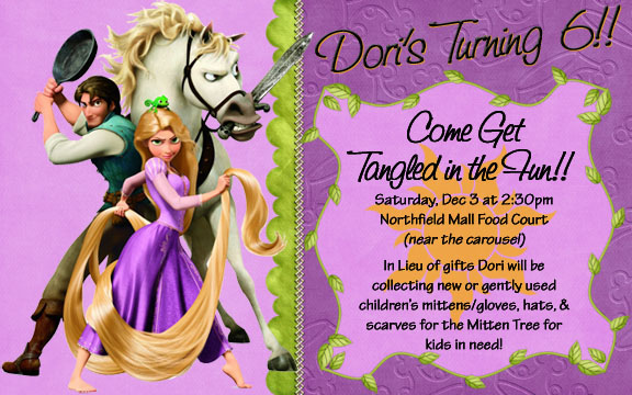 Rapunzel tangled birthday party rapunzel tangled party invitation tangled birthday gift bag filmwisefo