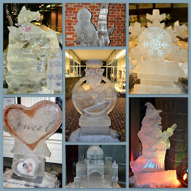 Salems Sweet ice sculptures