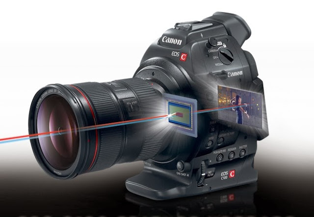 Canon upgrades its EOS C100 digital video camera offering continuous autofocus mode