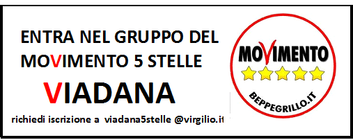 ENTRA NEL GRUPPO M5S VIADANA
