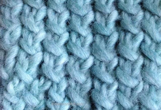 Tweed Mock Rib The Weekly Stitch