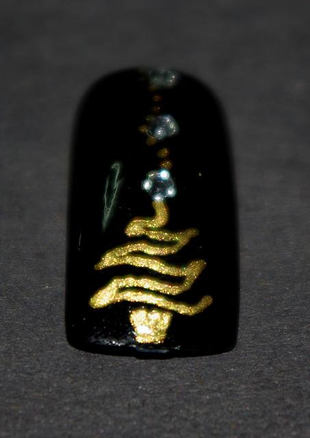 Christmas Nail Art Designs -35