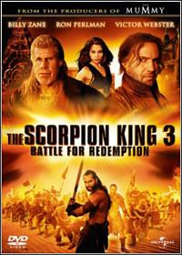 O Escorpião Rei 3  Batalha pela Redenção  AVI + RMVB Dublado