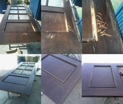 Como restaurar puertas de madera viejas o deterioradas for Reformar puertas